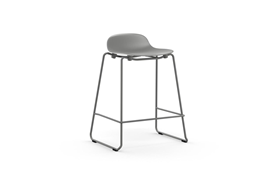 Form Barstool 65 cm Stacking Steel1