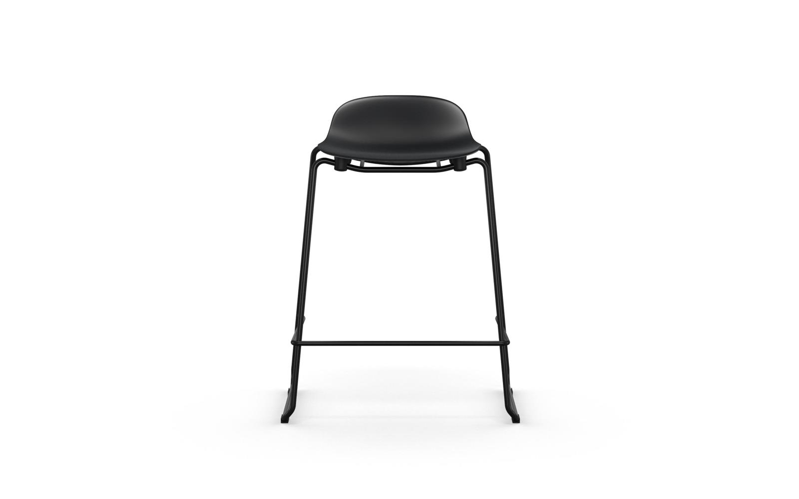 Form Barstool 65 cm Stacking Steel2