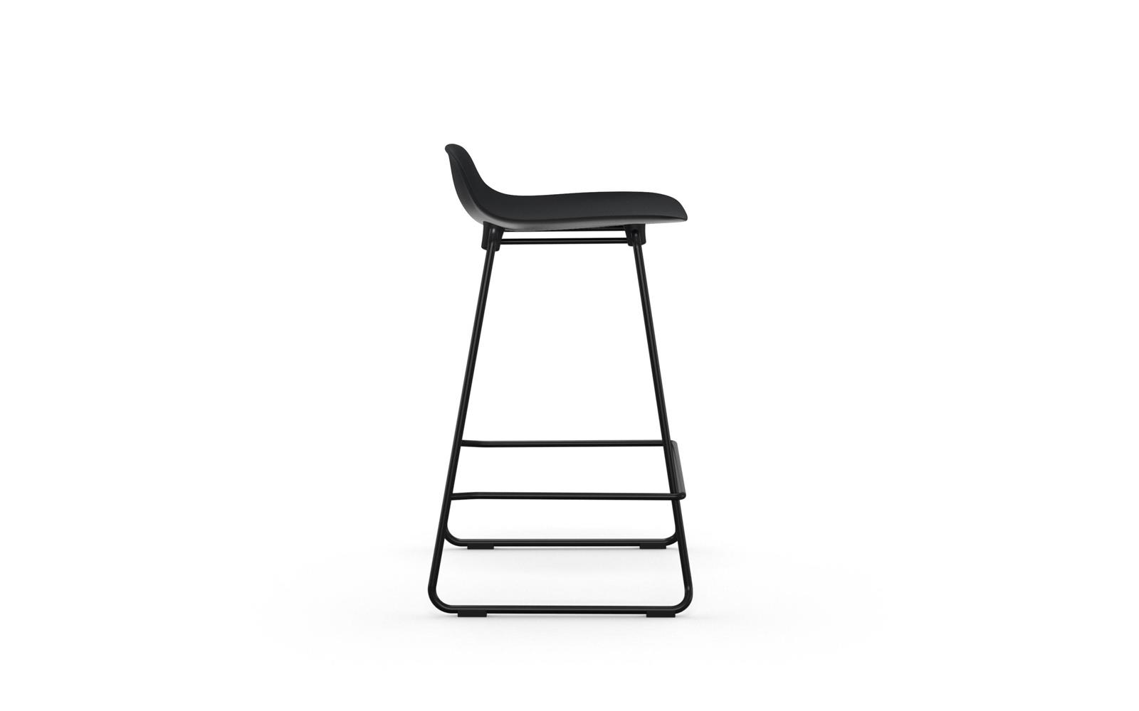 Form Barstool 65 cm Stacking Steel3