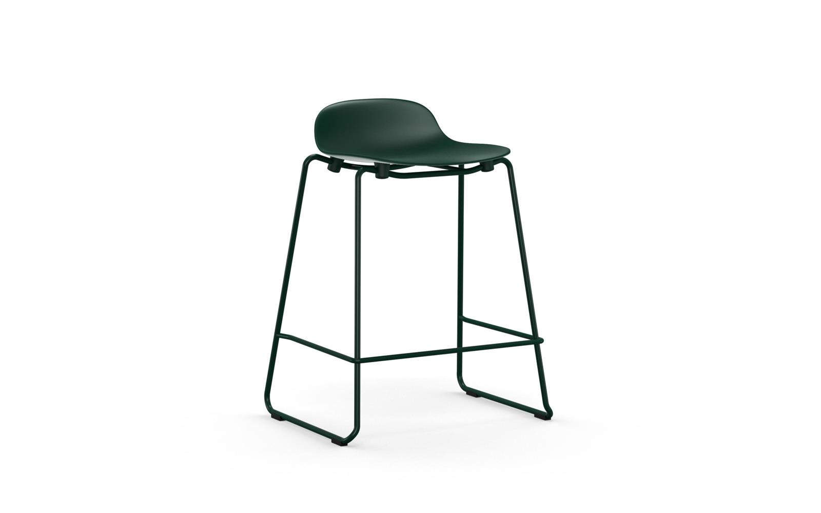 8b8947255baf Form stacking barstool 65 cm in stylish green | Buy it online here