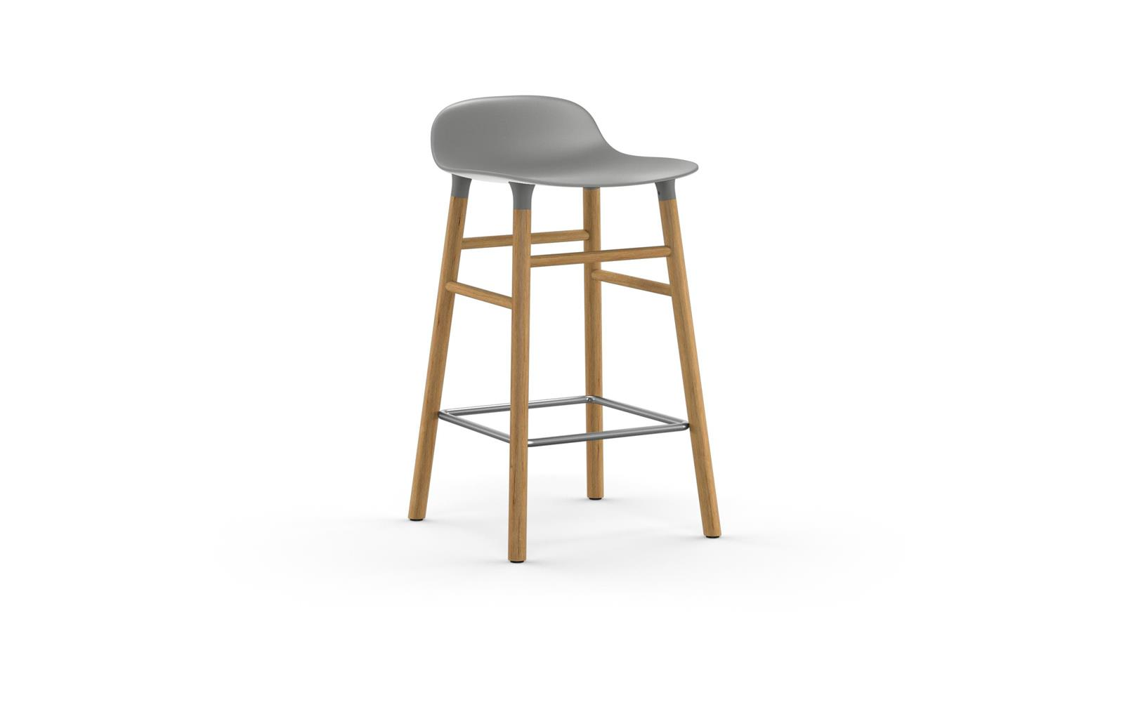 9f214a7ed1b7 Form Chair | Molded plastic shell chair with oak legs