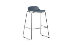 Form Barstool 75 cm Stacking Chrome1