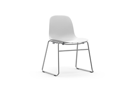 Form Chair Stacking Chrome1