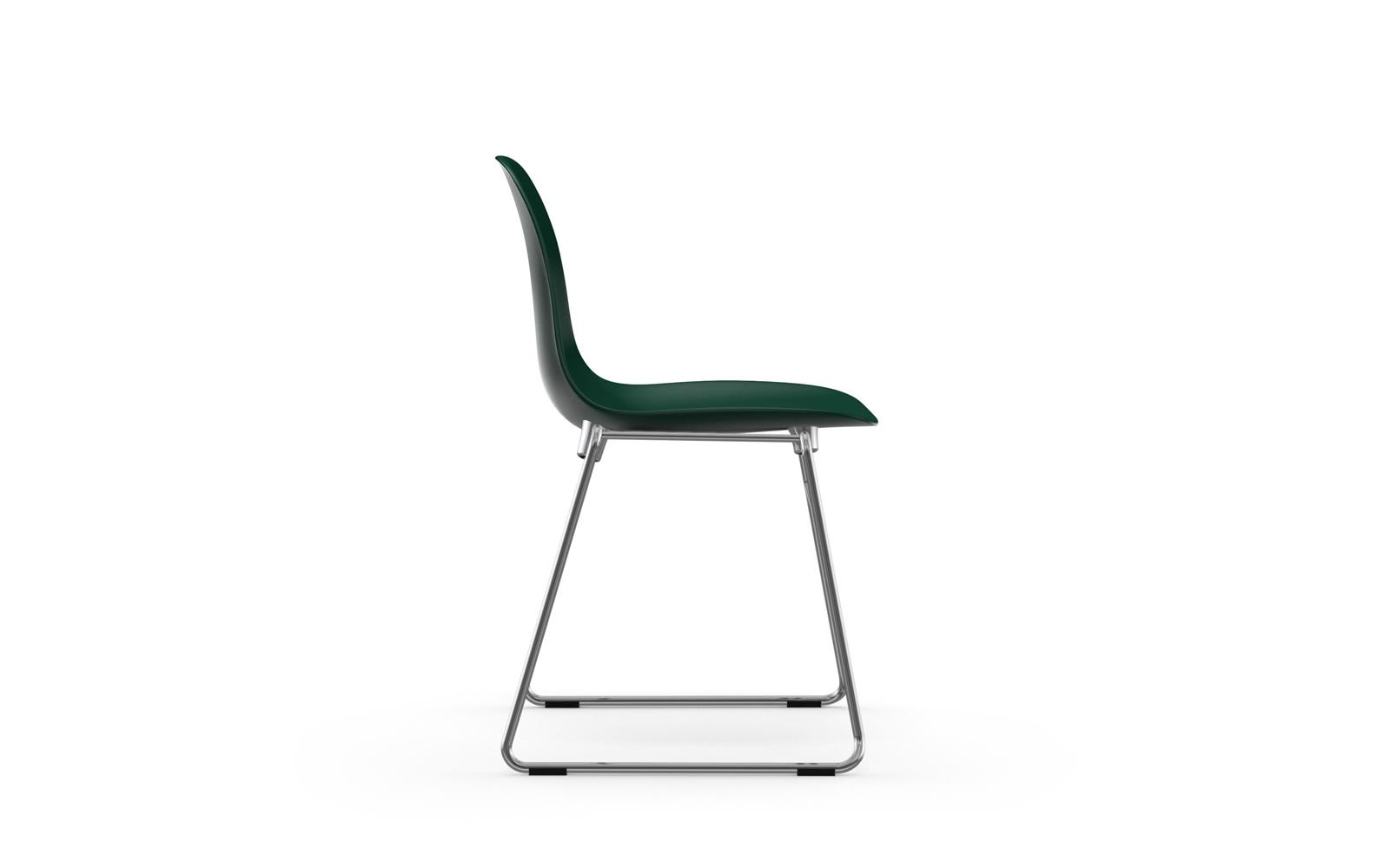 Form Chair Stacking Chrome3
