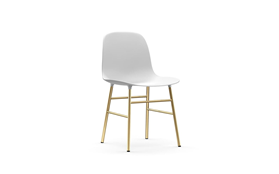 Form Chair Brass1