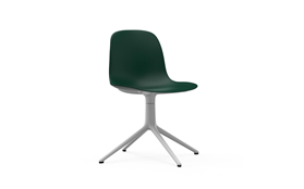 Form Chair Swivel 4L White Alu1