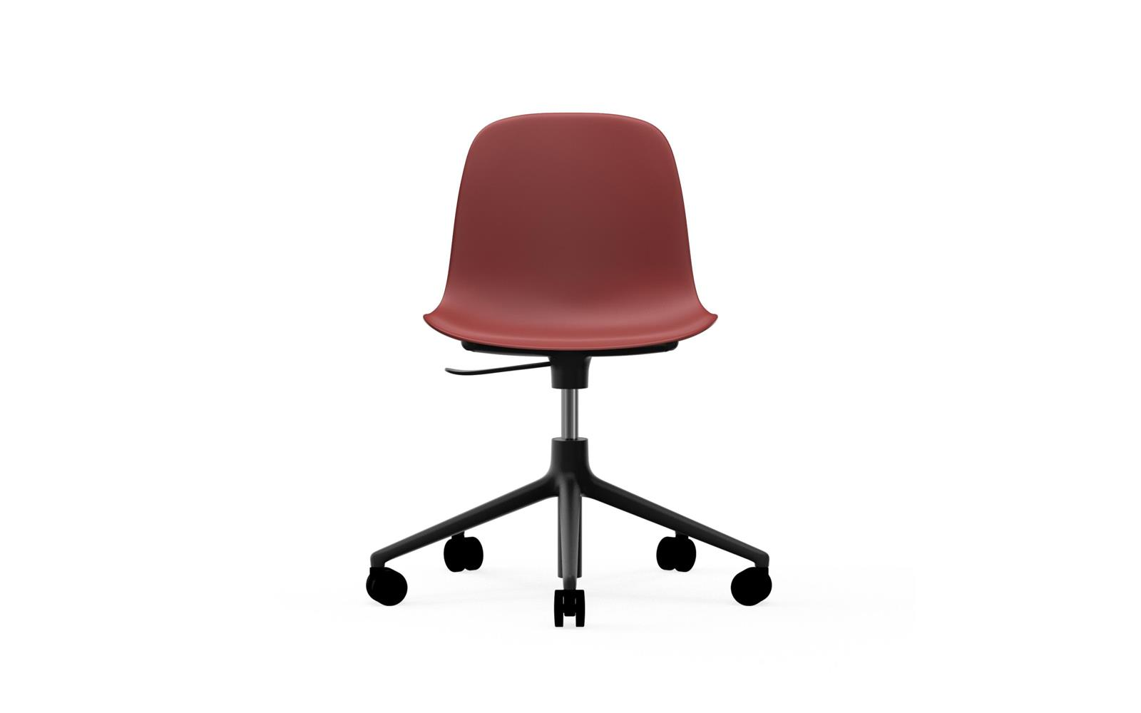 Form Chair Swivel 5W Gaslift Black Alu2