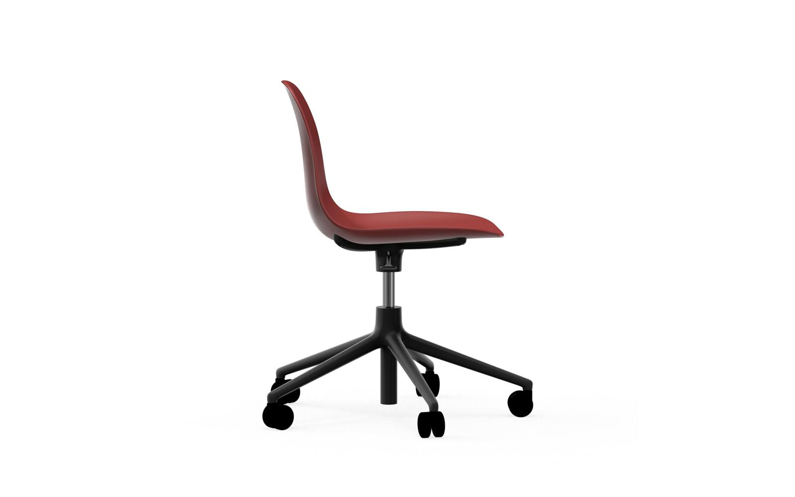Form Chair Swivel 5W Gaslift Black Alu3