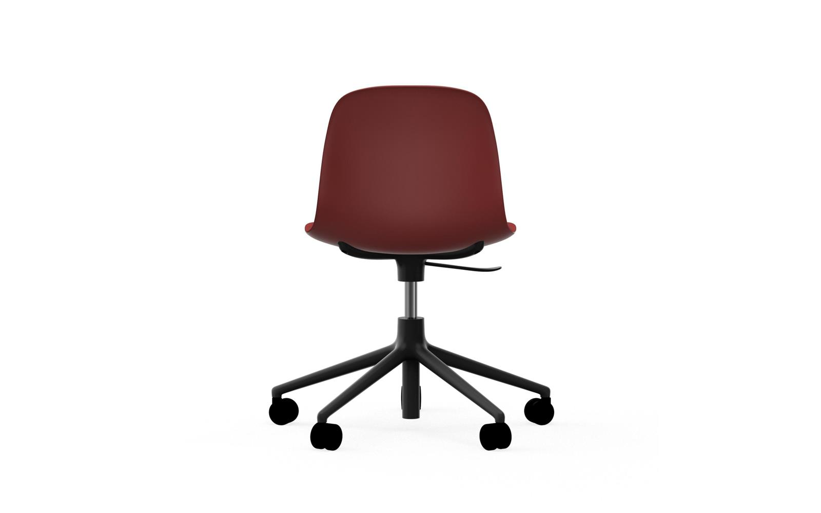 Form Chair Swivel 5W Gaslift Black Alu4