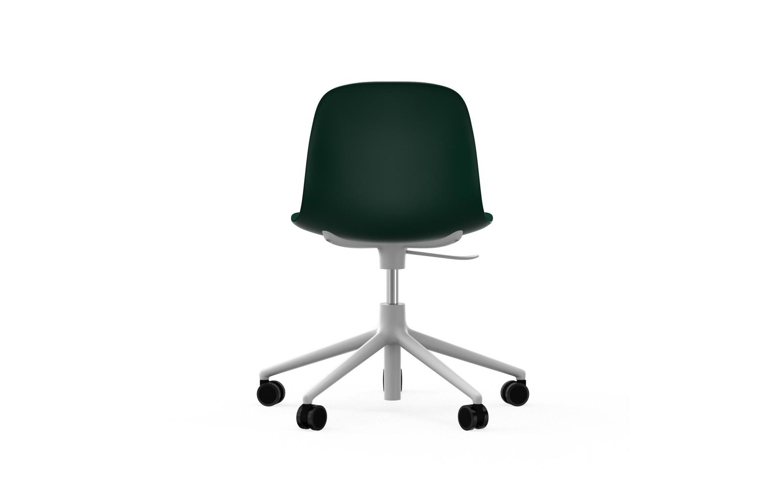 Form Chair Swivel 5W Gaslift White Alu4