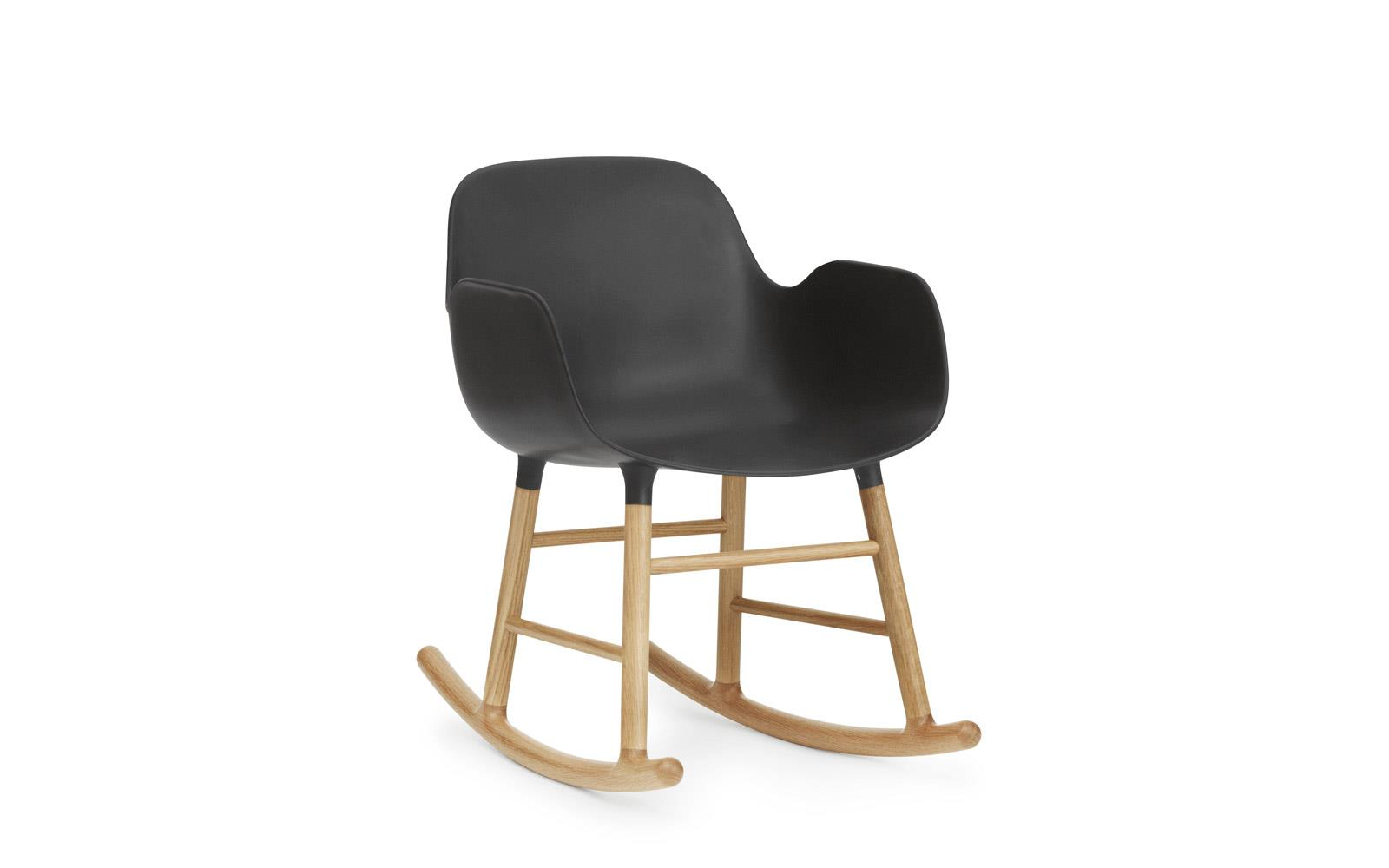 Form Rocking Armchair Oak1