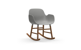 Form Rocking Armchair Walnut1