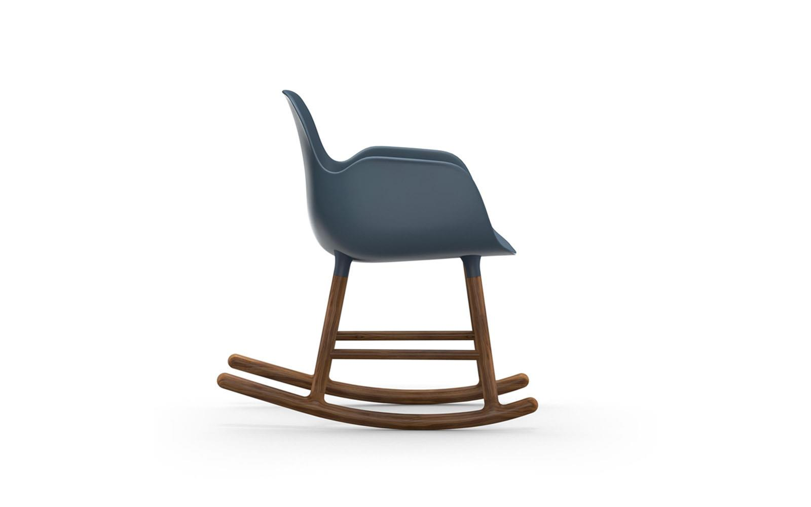 Form Rocking Armchair Walnut3