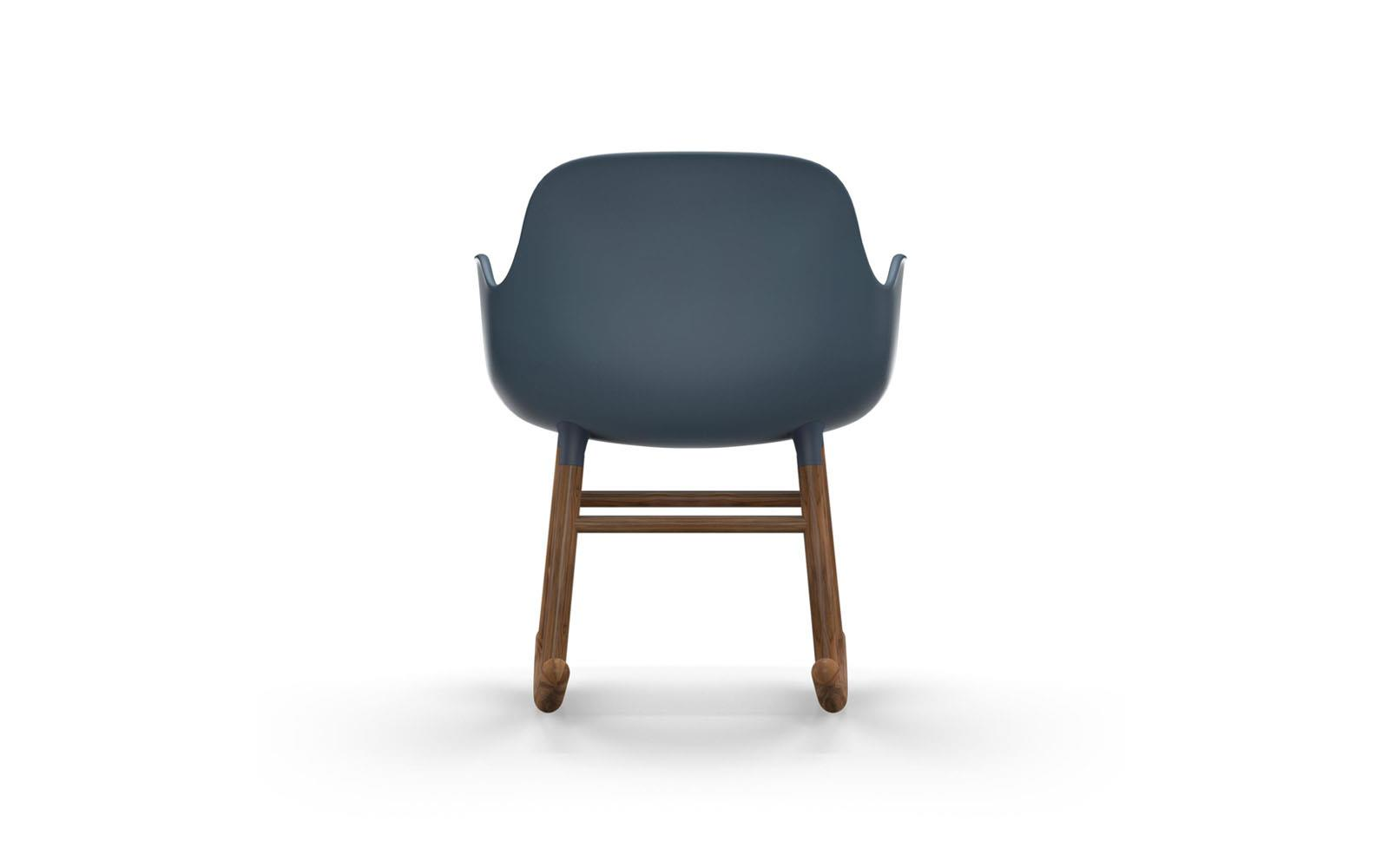 Form Rocking Armchair Walnut4
