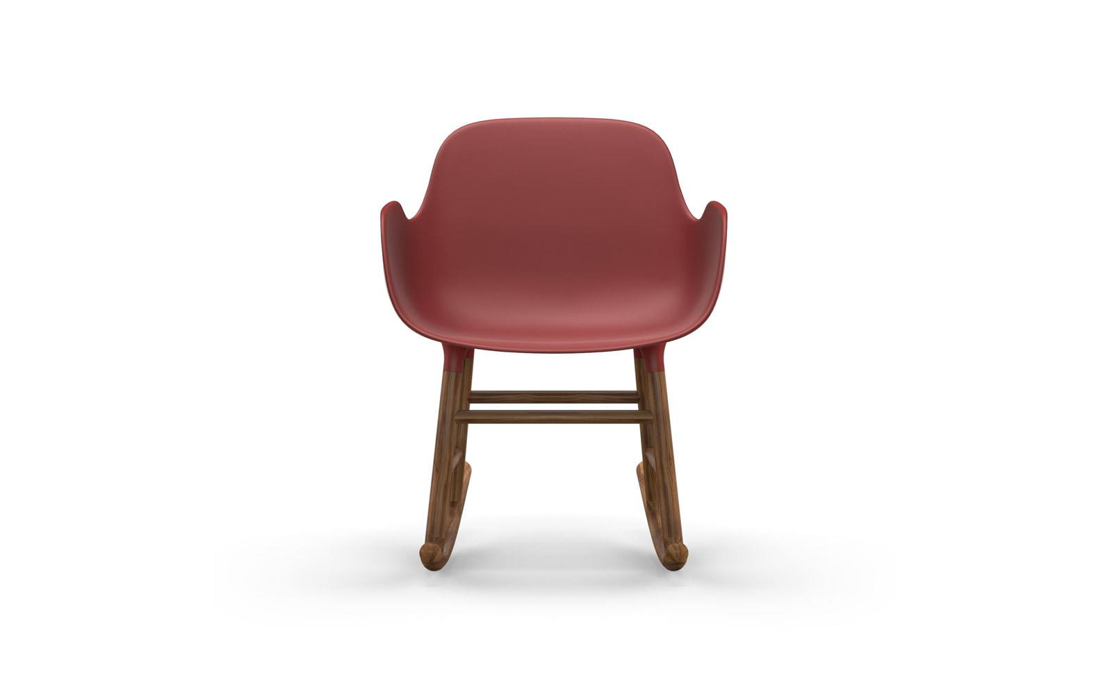 Form Rocking Armchair Walnut2
