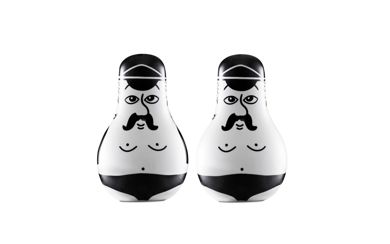 Friends Salt  Pepper Set1
