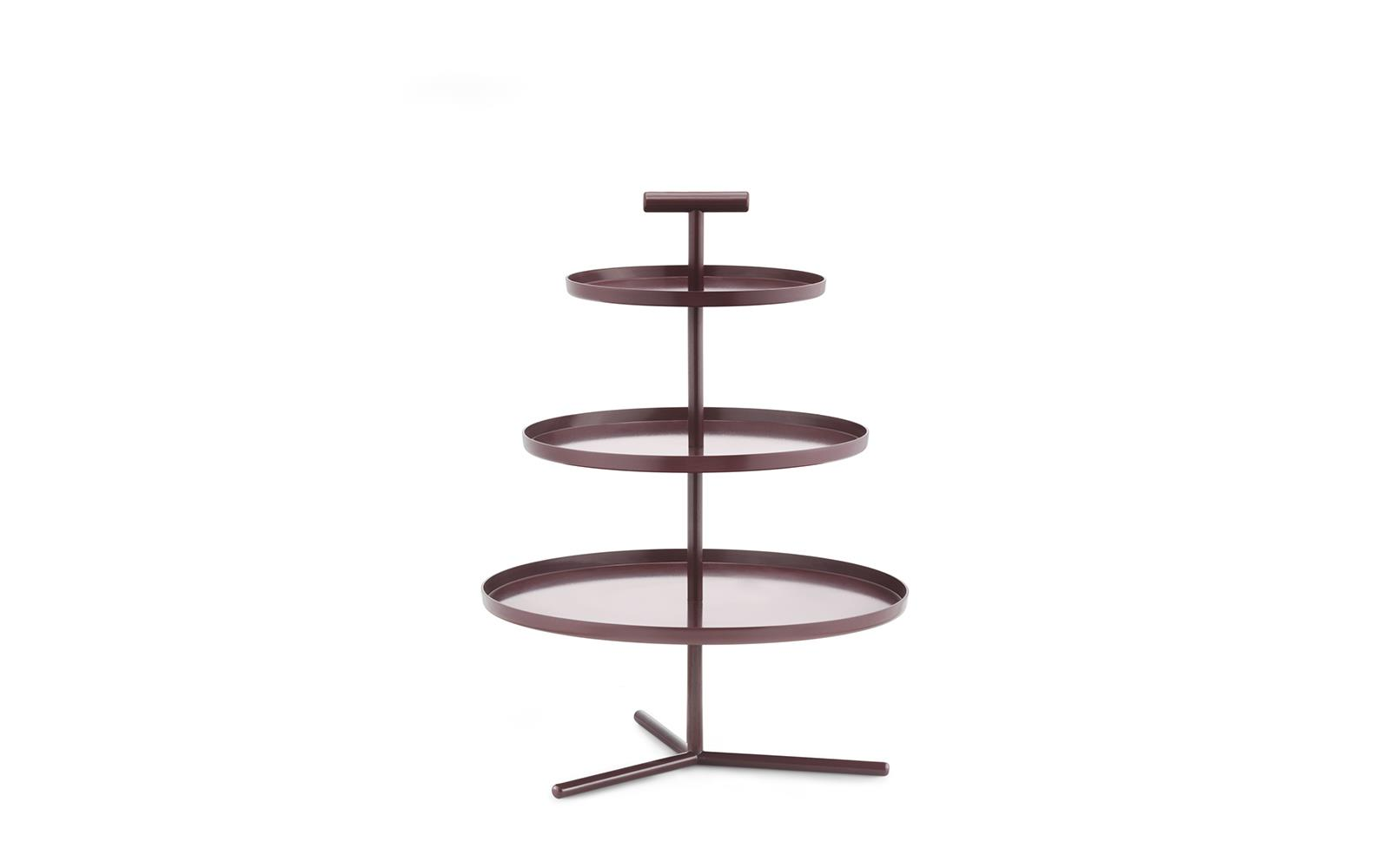 Glaze 3 Tiered Cake Stand With A Modern Expression