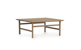 Grow Table 80 x 80 cm Oak1