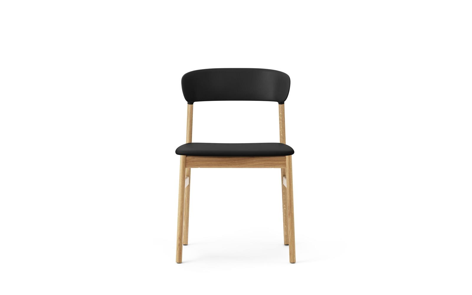 Herit Chair Upholstery Oak2  sc 1 st  Normann Copenhagen & Herit Chair Upholstery Oak Spectrum Leather Black