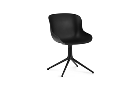 Hyg Chair Swivel 4L Black Alu1