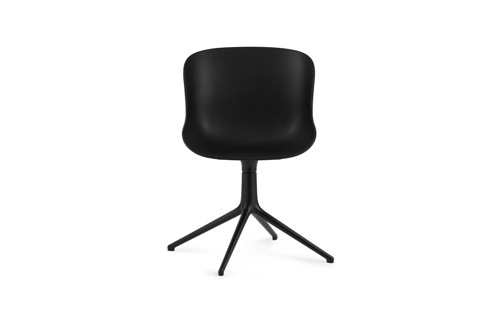 Hyg Chair Swivel 4L Black Alu2