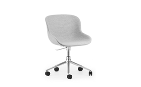 Hyg Chair Swivel 5W Gaslift Full Upholstery Alu1