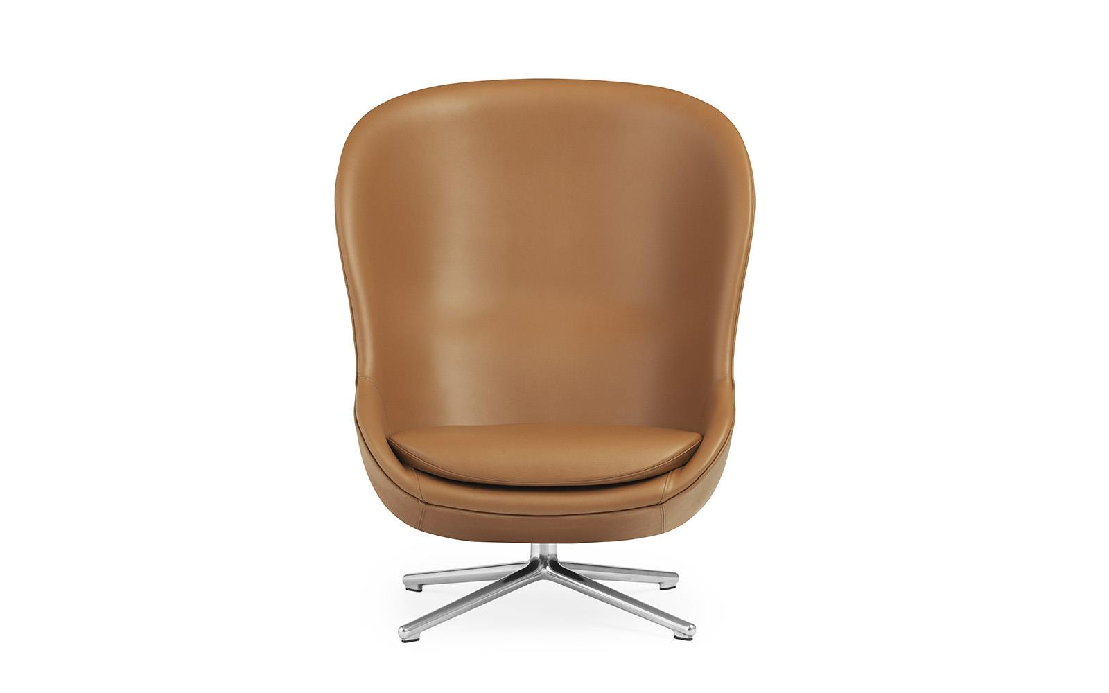 Hyg Lounge Chair High Swivel Alu2