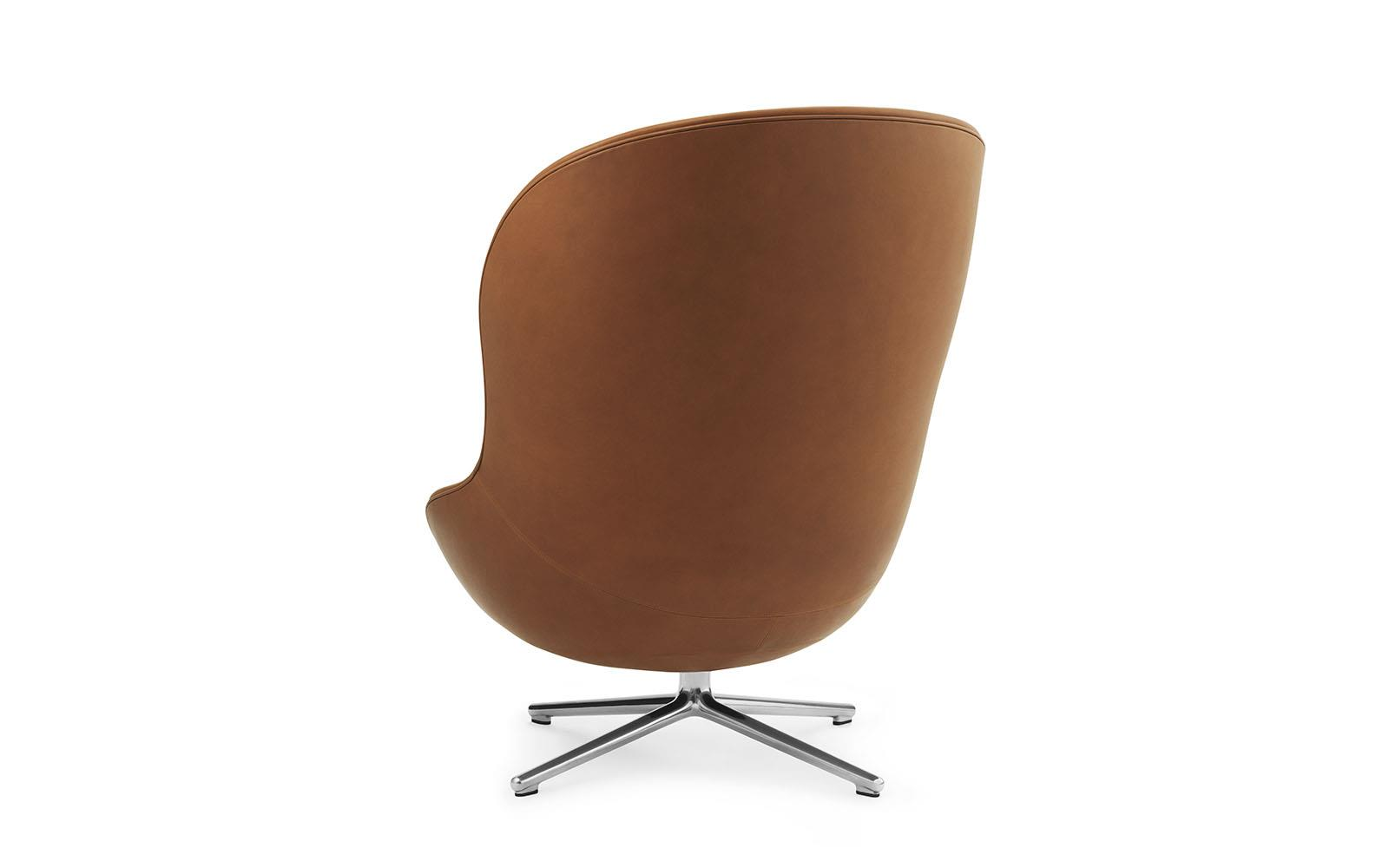 Hyg Lounge Chair High Swivel Alu3