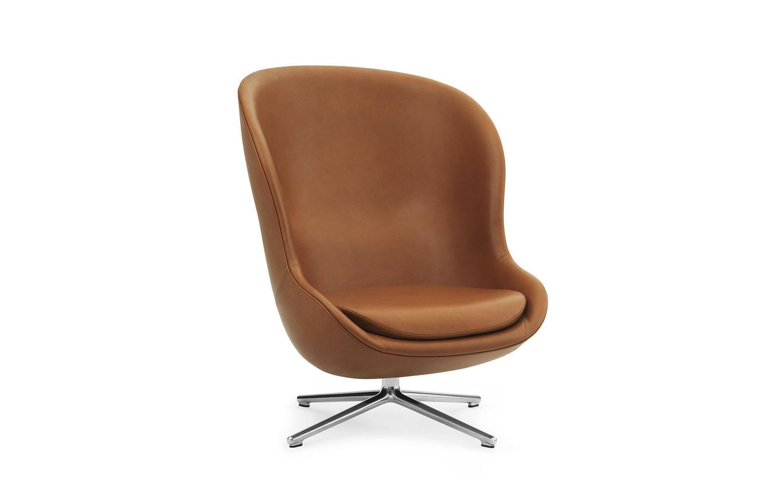 Hyg Lounge Chair High Swivel Alu1