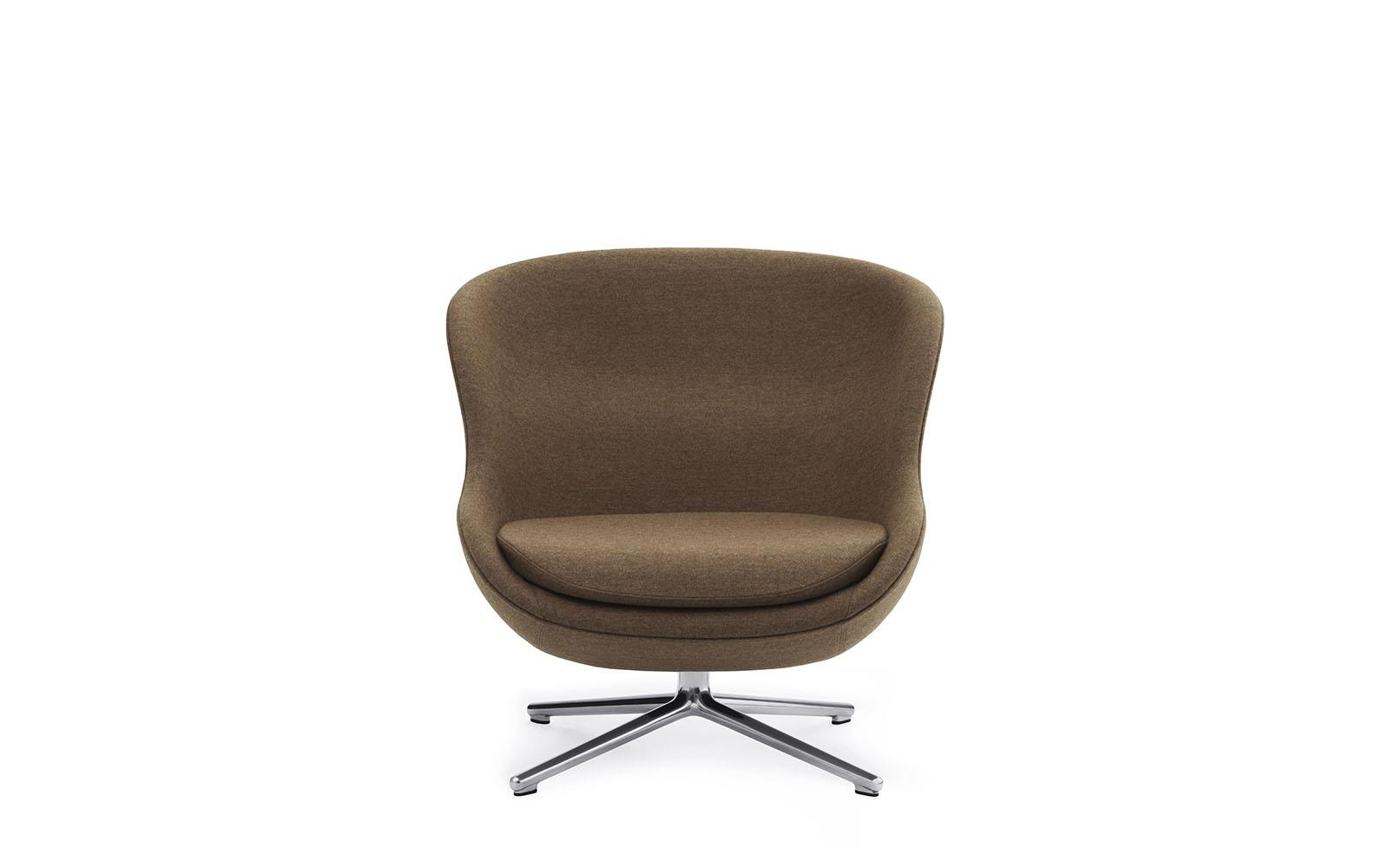 Hyg Lounge Chair Low Swivel Alu2