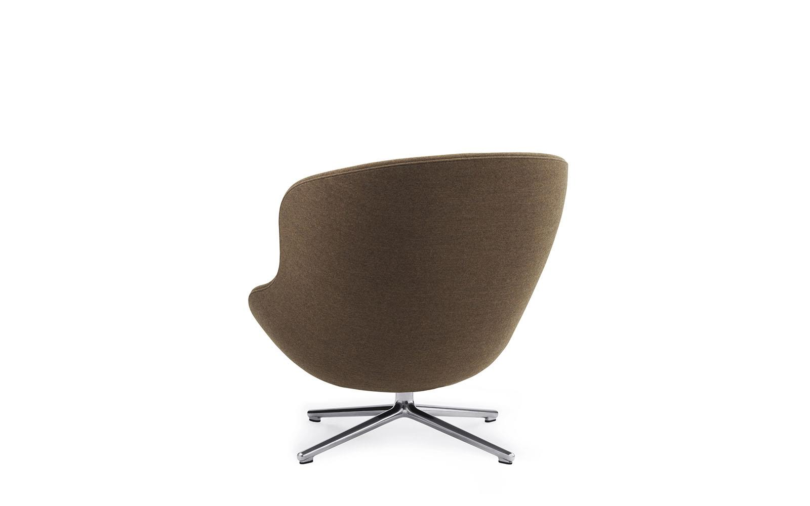 Hyg Lounge Chair Low Swivel Alu3