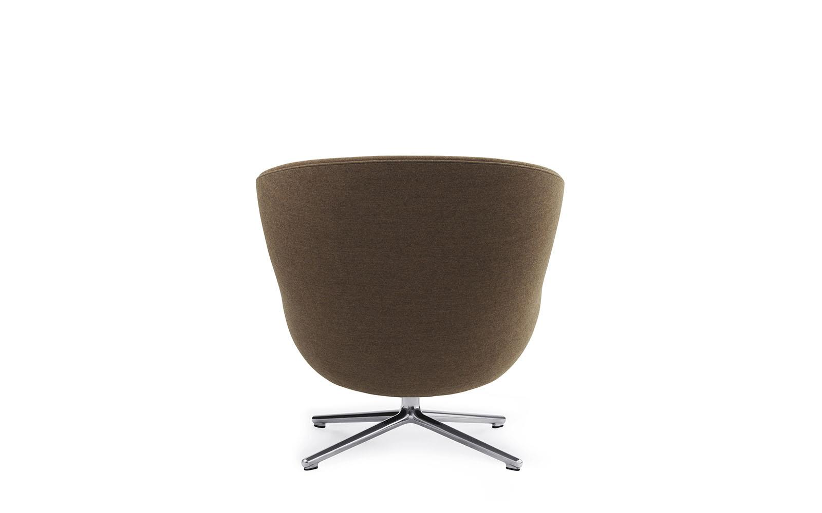 Hyg Lounge Chair Low Swivel Alu4