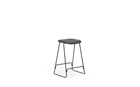 Just Barstool 65 cm Full Uph Black Steel1