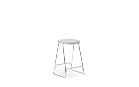 Just Barstool 65 cm Full Uph Chrome1