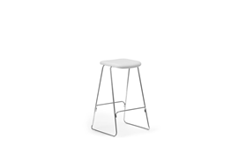 Just Barstool 75 cm Full Uph Chrome1