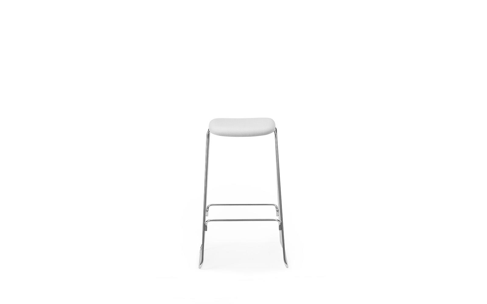 Just Barstool 75 cm Full Uph Chrome2