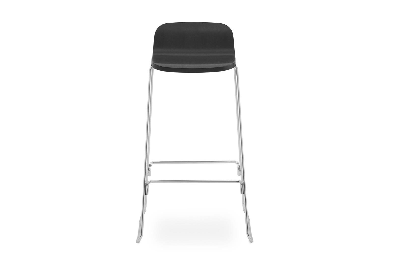 Just Barstool w back 75 cm2