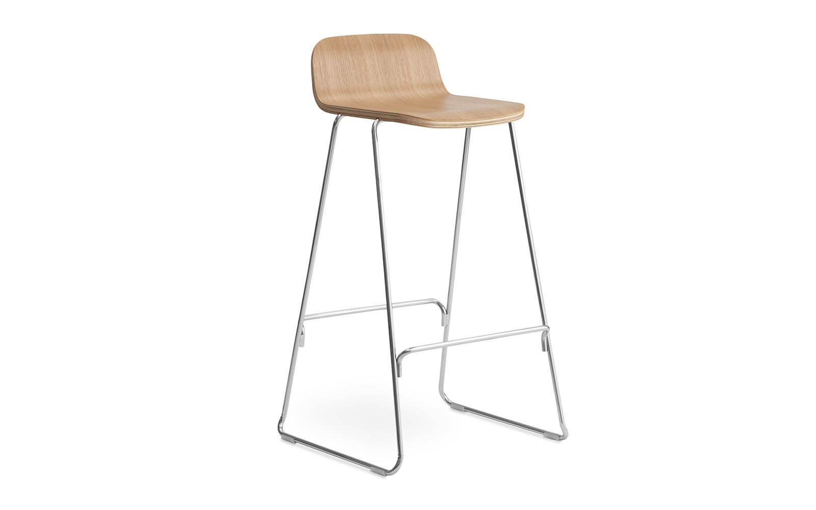 Just Barstool w Back 75 cm1