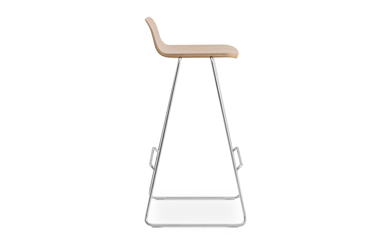 Just Barstool w Back 75 cm3