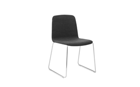 Just Chair Upholstered Chrome1
