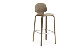 My Chair Barstool 75 cm Walnut1