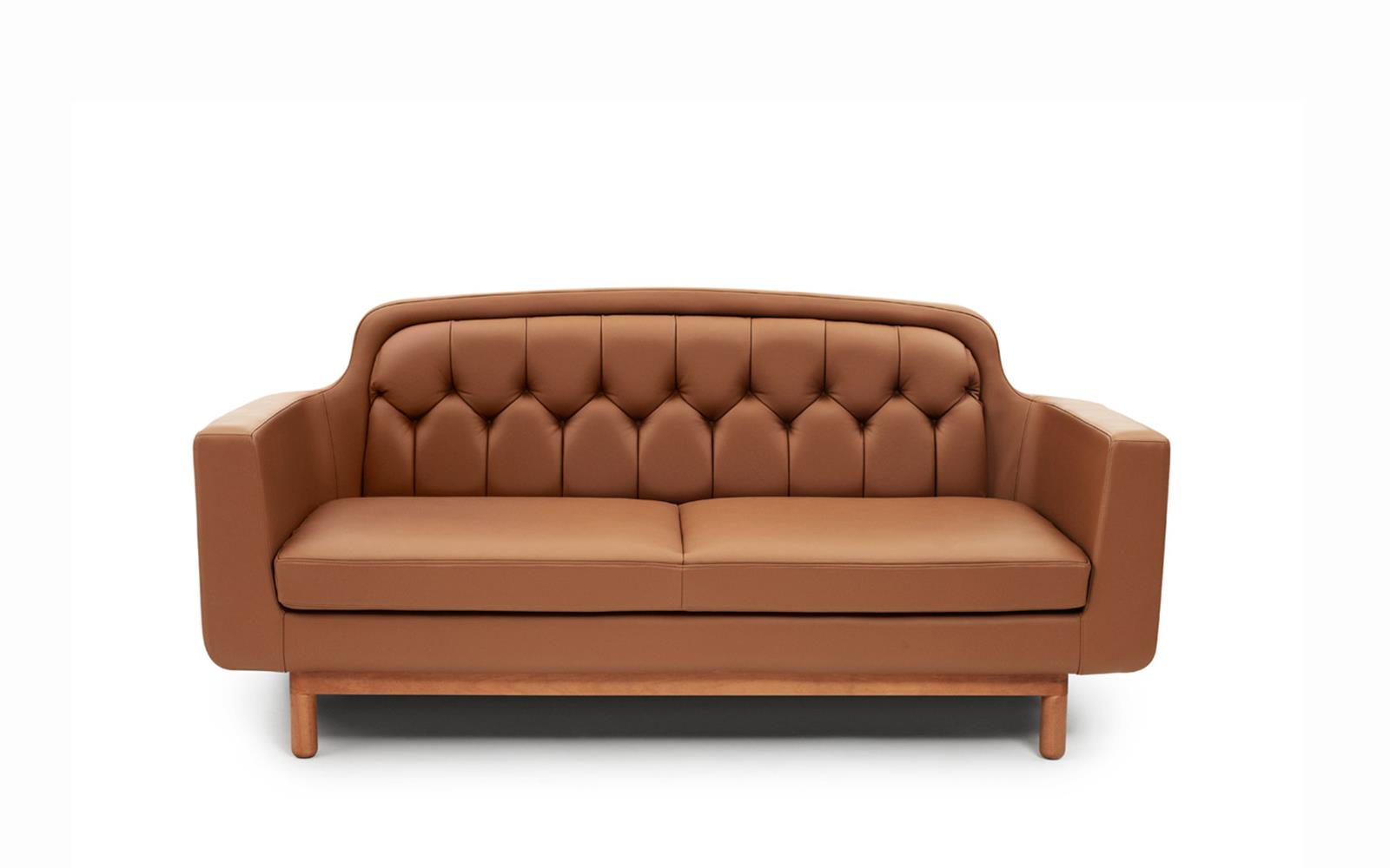 Onkel Sofa 2 Seater Leather1