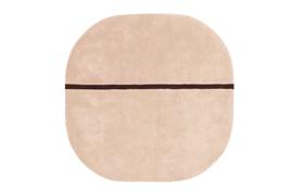 oona carpet modern mint wool carpet 140x140 cm. Black Bedroom Furniture Sets. Home Design Ideas
