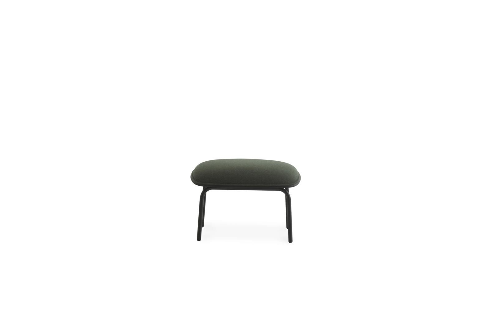 Pad Footstool Black Steel2