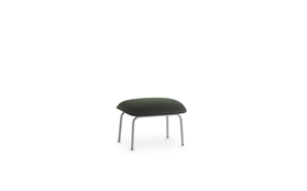 Pad Footstool Grey Steel1