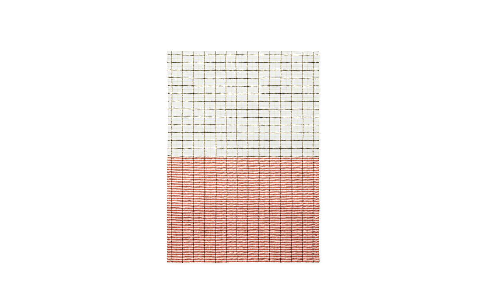 Ren Tea Towel Stripe Grid1