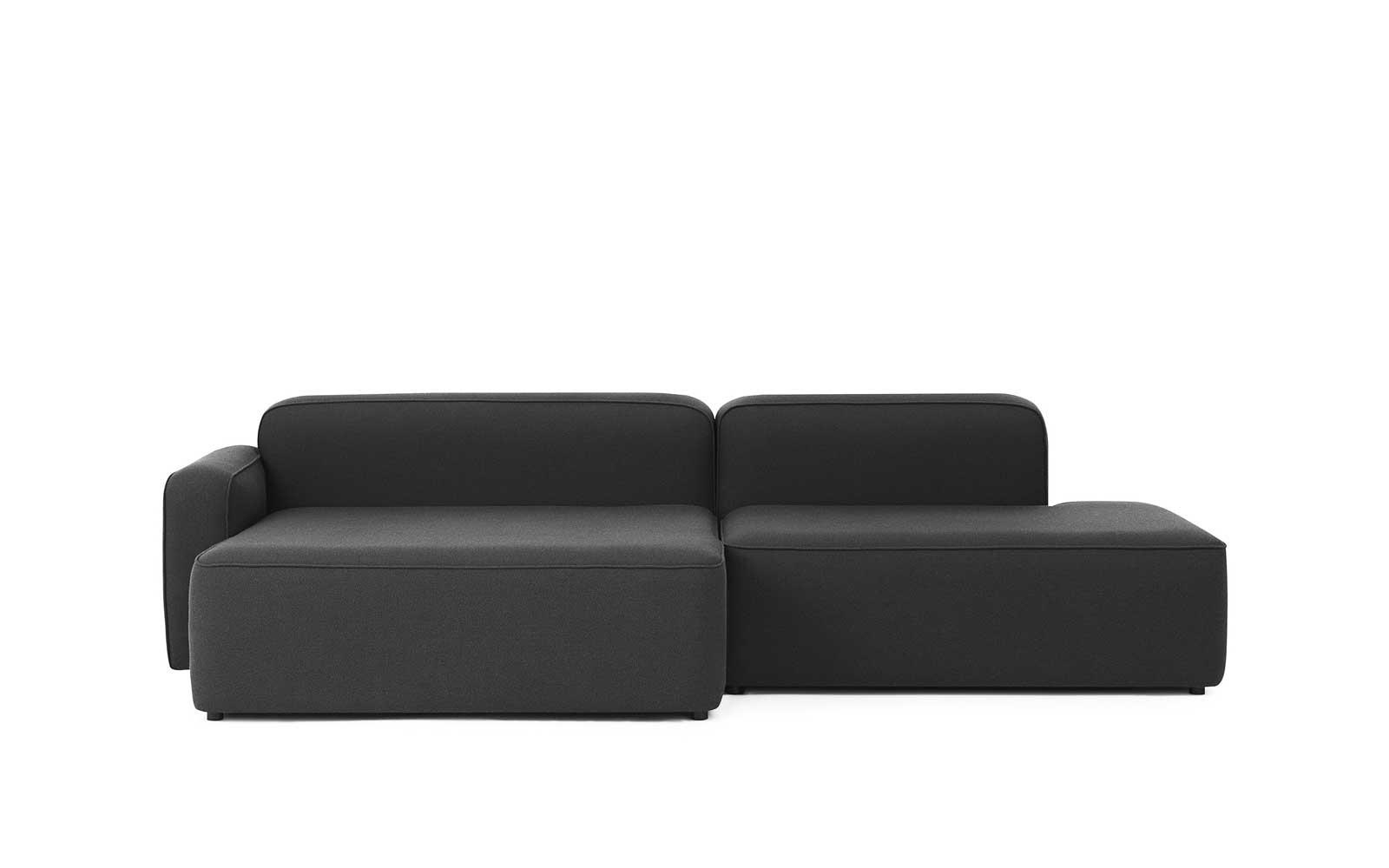 Rope Sofa Chaise Longue left Fame