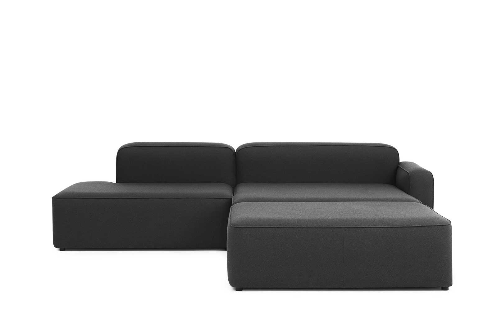 rope sofa chaise lounge right with pouf fame rh normann copenhagen com chaise lounge sofa for sale small chaise lounge sofa