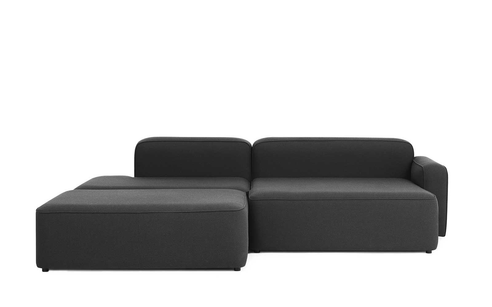Rope Sofa With Chaise Pouf Lounge Right Fame 5jALc34Rq