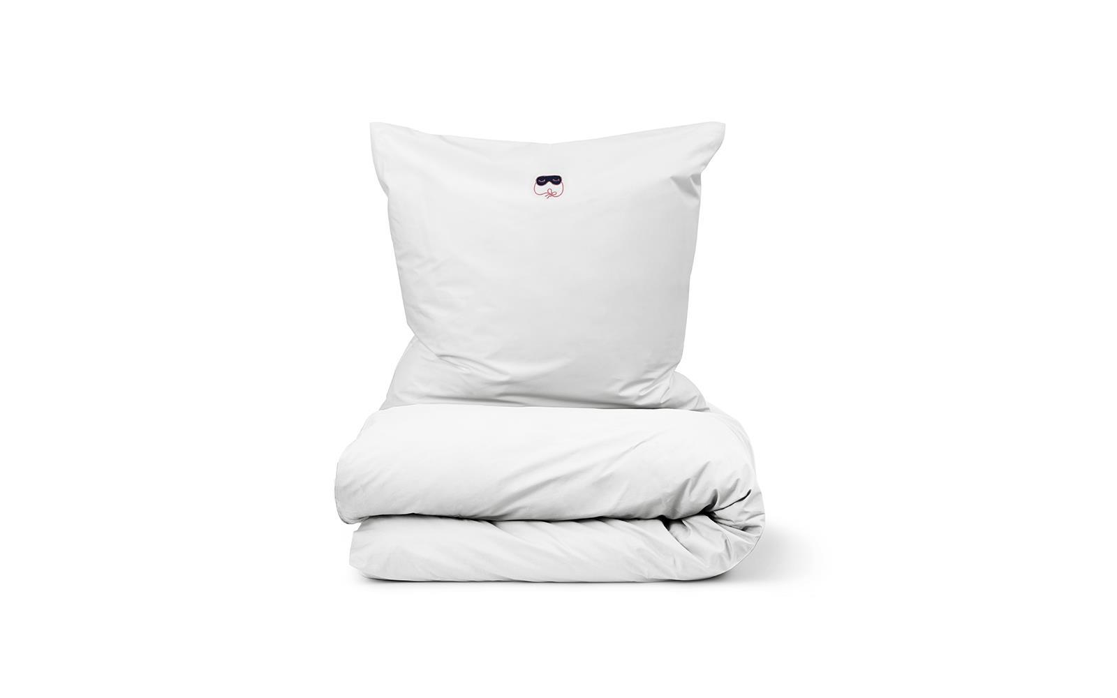 Picture of: Snooze Sengesaet 140×220 Deep Sleep Hvid